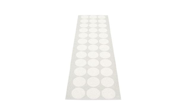Pappelina - Hugo Wendeteppich - weiß metallic - 70 x 240 cm - 1