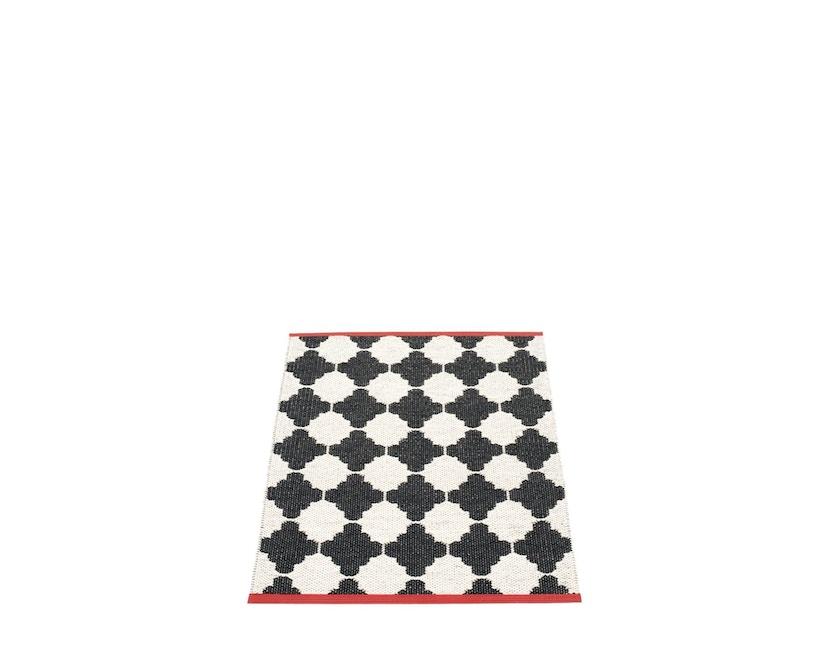 Pappelina - Marre Wendeteppich - schwarz - 70 x 90 cm - 1