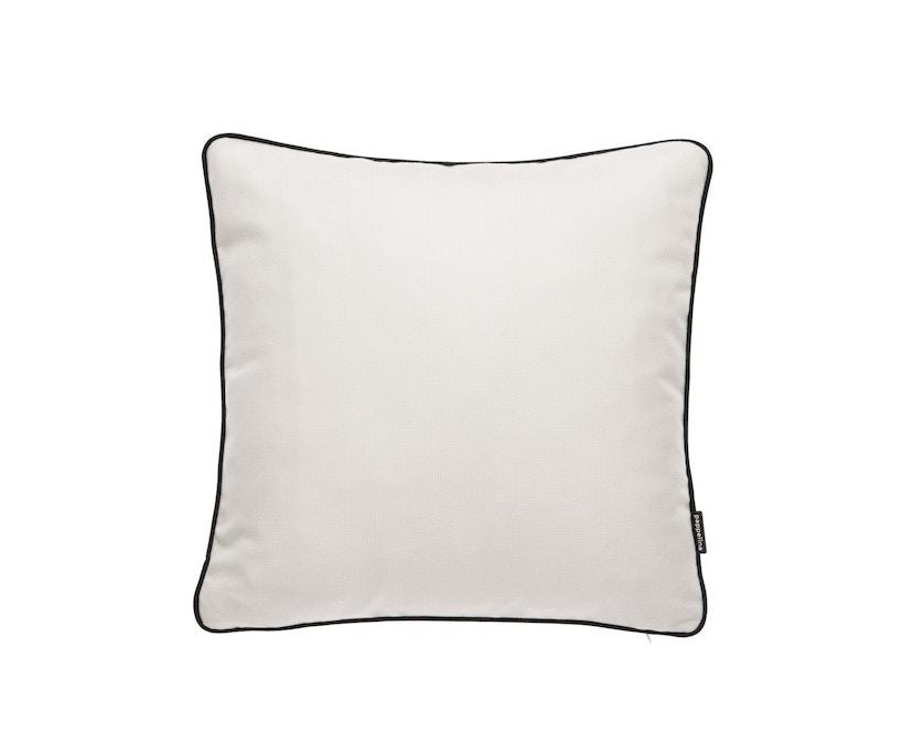 Pappelina - Ray Outdoor Kissen - 44 x 44 cm - vanille - 1