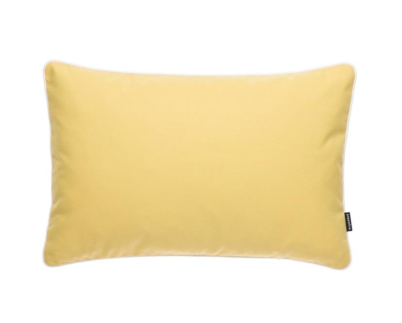Pappelina - Sunny Outdoor Kissen  Yellow - 44 x 44 cm - 1