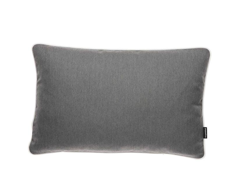 Pappelina - Sunny Outdoor Kissen  Dark Grey - 38 x 58 cm - 1