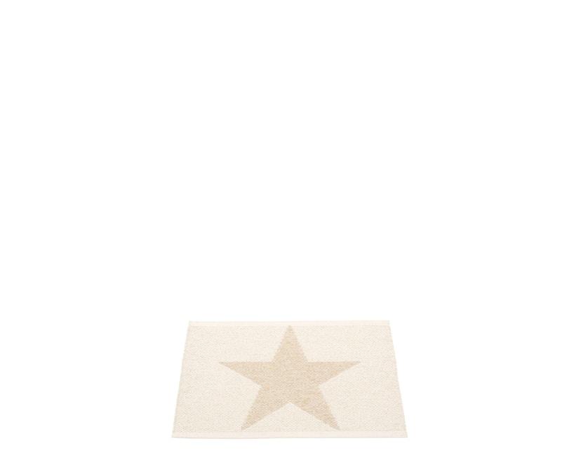 Pappelina - Viggo Star Teppich - beige metallic - 70 x 50 cm - 1