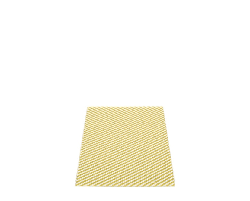 Pappelina - Will Teppich-  Mustard/ Vanilla - 70 x 90 cm - 1