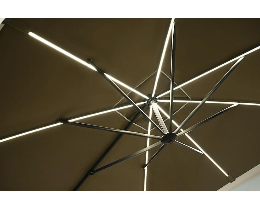 Vlaemynck - Easy Shadow Sonnenschirm -Weiß-LED- ecru - 3