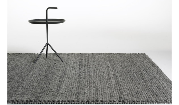 HAY - Peas Teppich - 80 x 140 cm - medium grey - 3