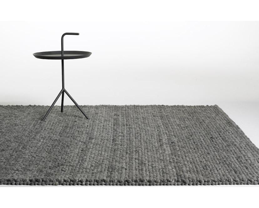 HAY - Peas Teppich - 80 x 140 cm - medium grey - 3