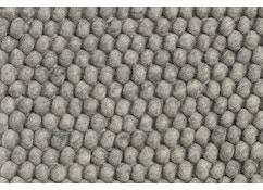 HAY - Peas Teppich - 140 x 200 cm - medium grey