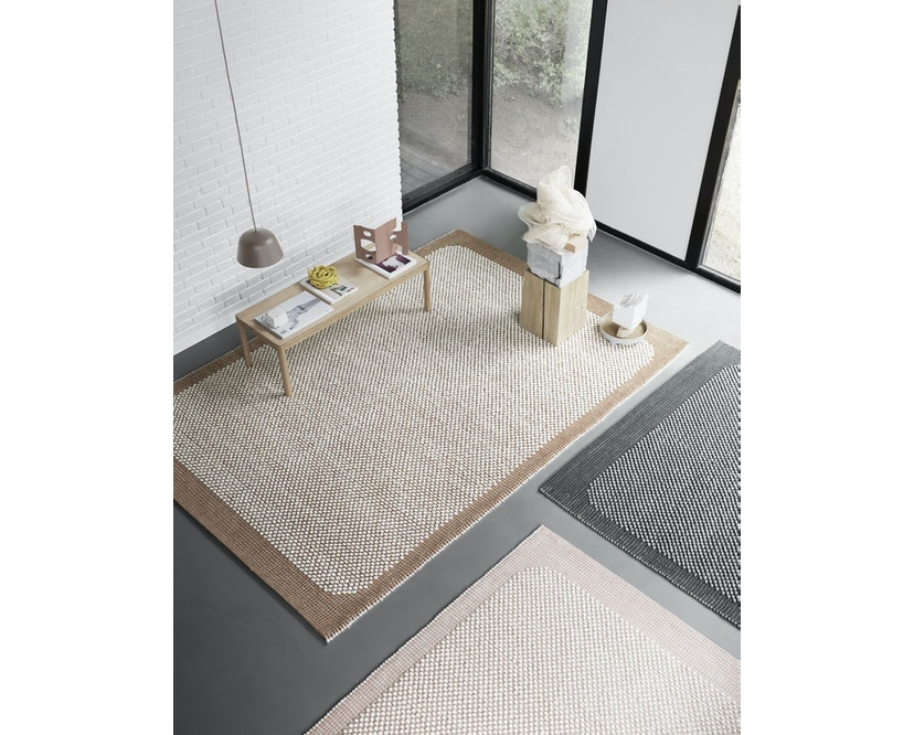 Muuto - Pebble Rug Teppich - 170 x 240 - Pale Rose - 2