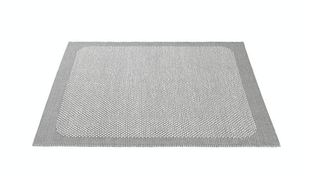 Muuto - Pebble Rug Teppich  - MuutoPebbleRugLightGrey - 170 x 240 cm - 1