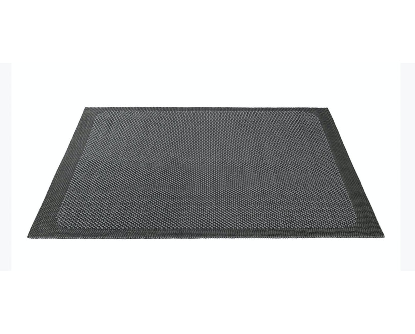 Muuto - Pebble Rug Teppich - 200 x 300 - Dark Grey - 1