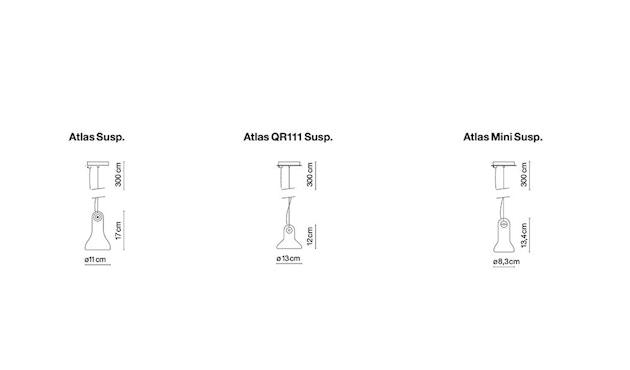 Marset - Atlas Pendelleuchte - transparent - 7