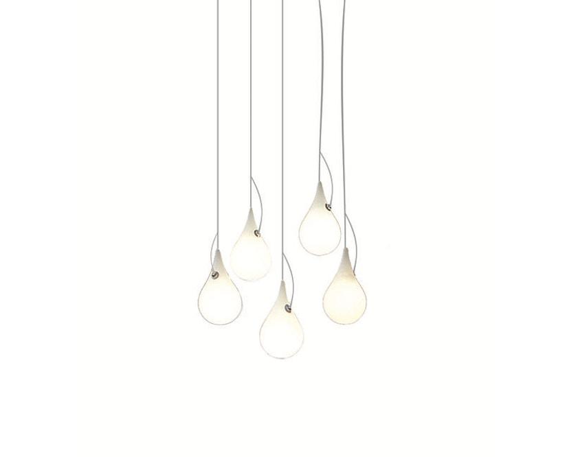 Next - Liquid Light Drop LED Kronleuchter xs fünf Leuchtkörper - 1