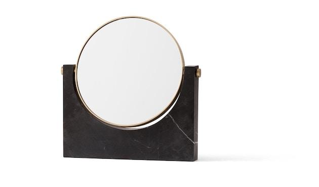 Menu - Pepe Marble Kosmetikspiegel - Messing/schwarz - 4