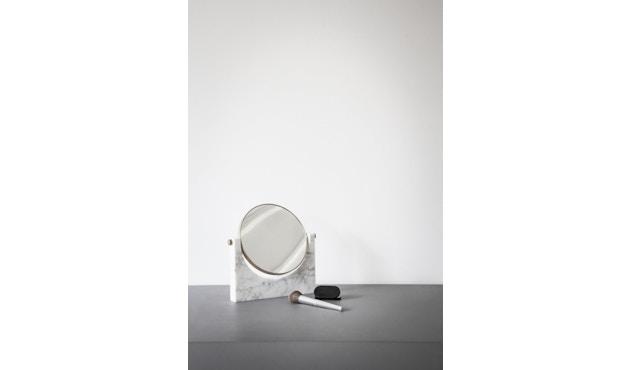 Menu - Pepe Marble Kosmetikspiegel - Messing/schwarz - 8
