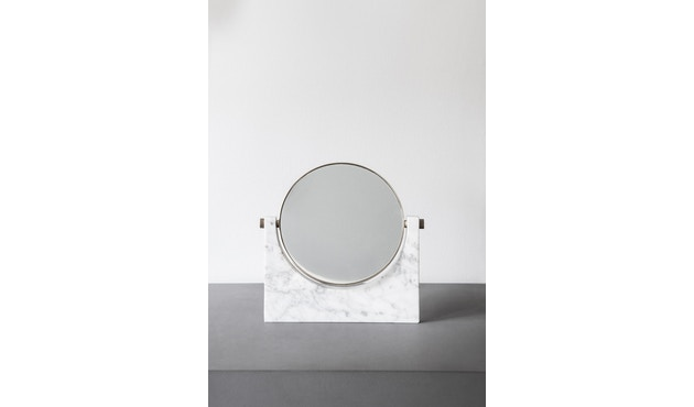 Menu - Pepe Marble Kosmetikspiegel - Messing/schwarz - 10