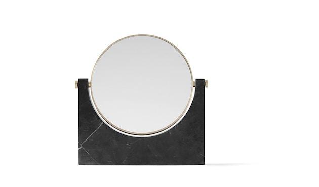 Menu - Pepe Marble Kosmetikspiegel - Messing/schwarz - 3