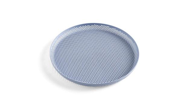 HAY - Perforiertes Tablett - light blue - M - 1