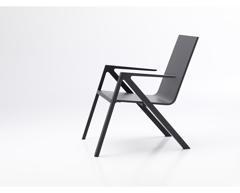 PER/USE - Félix relax chair - diepzwart - 1