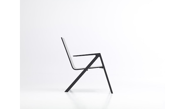 PER/USE - Félix relax chair - diepzwart - 2