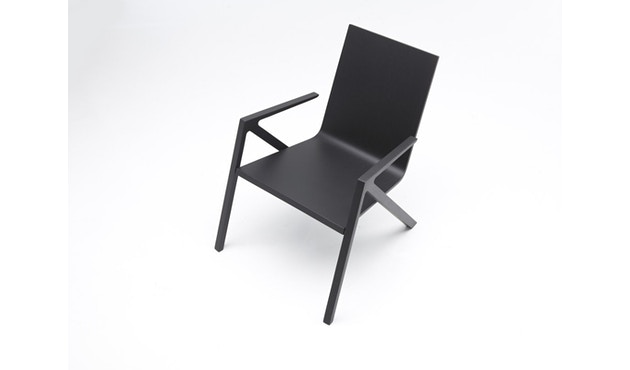 PER/USE - Félix relax chair - diepzwart - 3