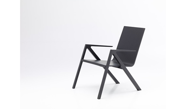 PER/USE - Félix relax chair - diepzwart - 4