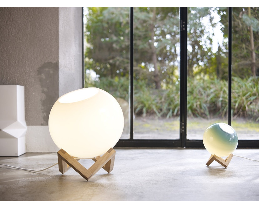 PER/USE - MCE lamp - eik - glas groen - S - 6
