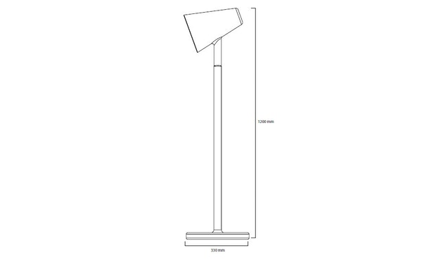 PER/USE - The Siblings vloerlamp - eiken - 3