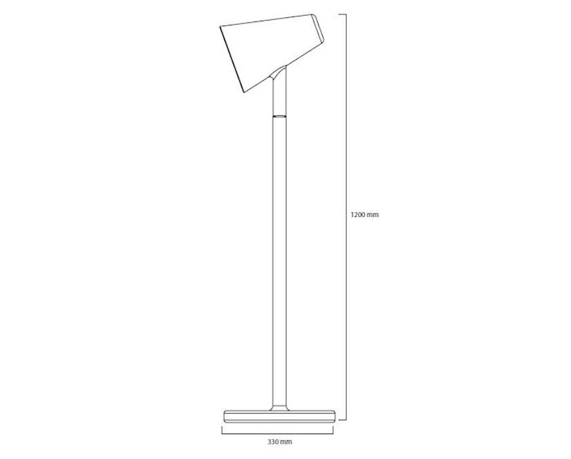 PER/USE - The Siblings vloerlamp - eiken - 3