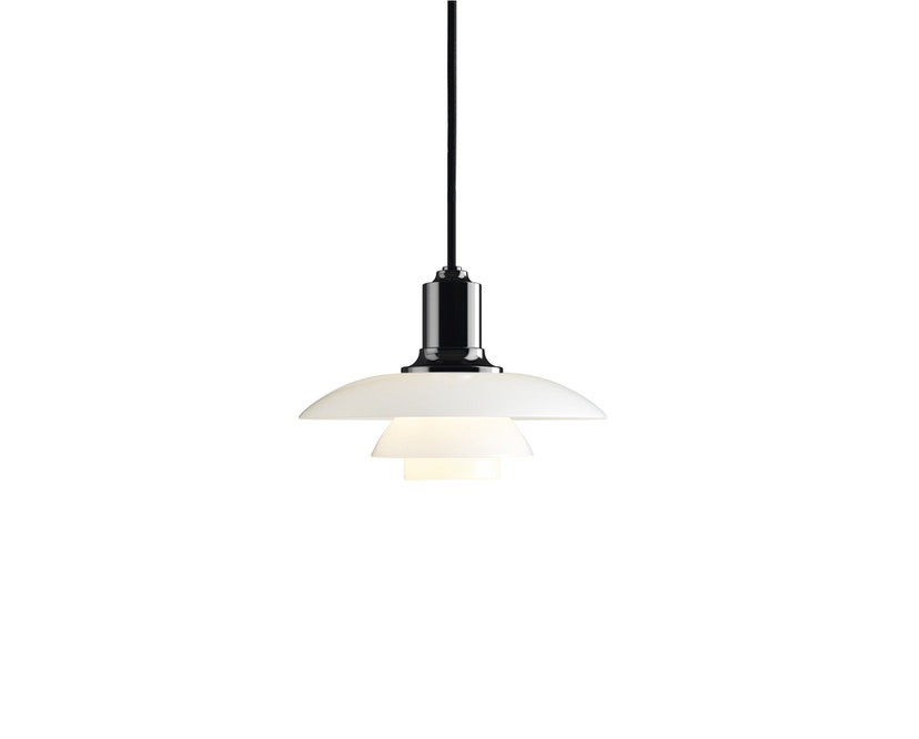 Louis Poulsen - PH 2/1 Pendelleuchte - schwarz metallisiert - 1