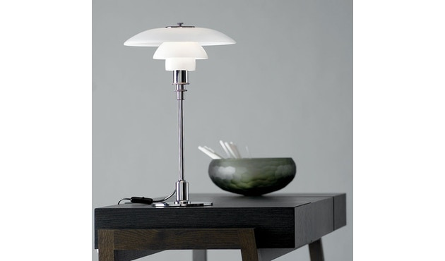Louis Poulsen - PH 3/2 tafellamp - hoogglansverchroomd - 3