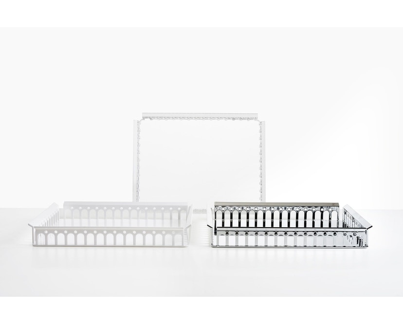 Kartell - Piazza Tablett - transparent - 2