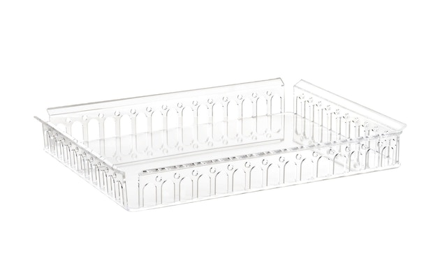 Kartell - Piazza Tablett - transparent - 1