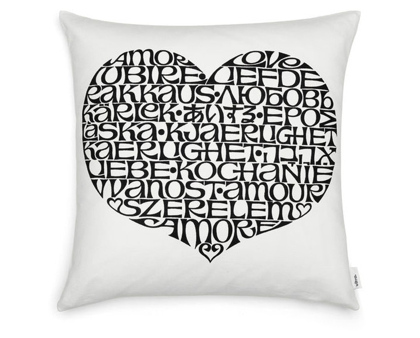 Vitra - Graphic Print Pillows - International Love Heart -  - 1