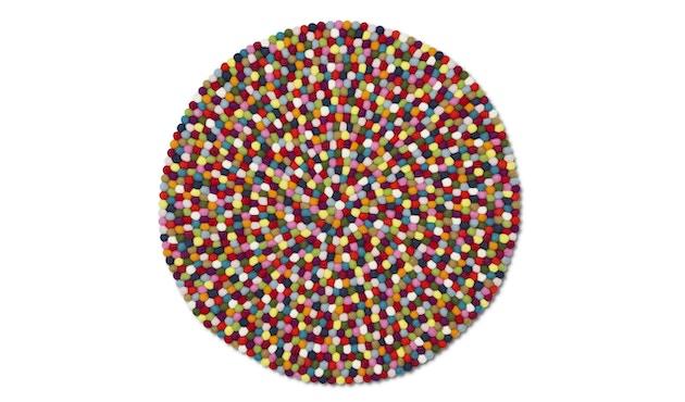 HAY - Vloerkleed Pinocchio - Ø 90 cm - multicolour - 0
