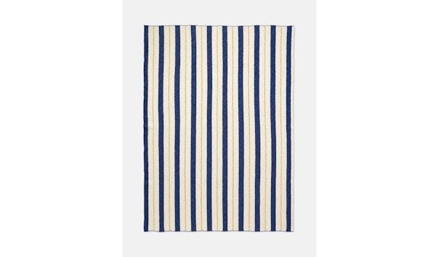 ferm LIVING - Pinstripe Decke - blau - 1