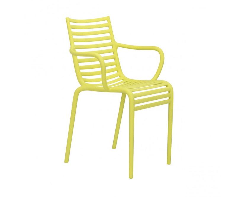 Driade - Fauteuil Pipe-e - jaune - 1
