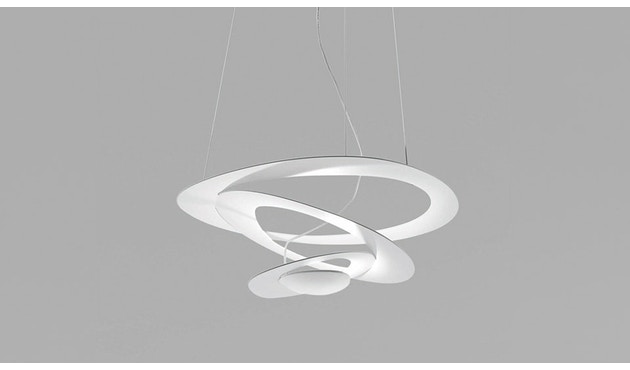 Artemide - Suspension Pirce - blanc - L - halogène - 3