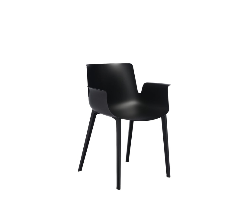 Kartell - Piuma Stuhl - schwarz - 10