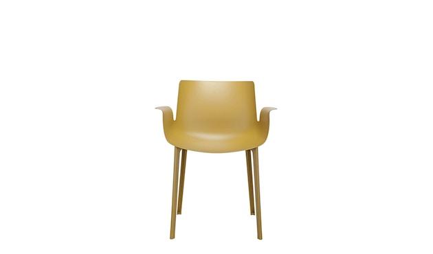 Kartell - Piuma stoel - mosterd - 1