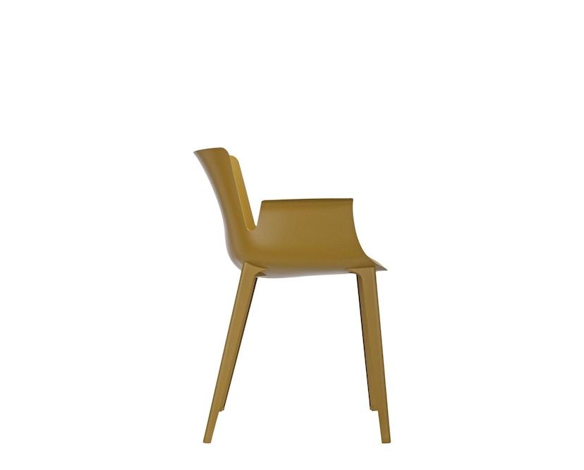 Kartell - Piuma stoel - mosterd - 2