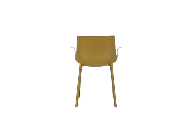 Kartell - Piuma stoel - mosterd - 3