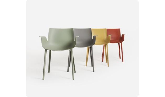 Kartell - Piuma stoel - mosterd - 4