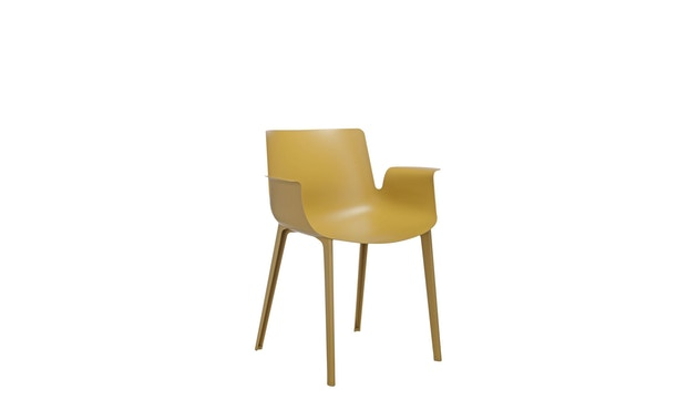 Kartell - Piuma stoel - mosterd - 0