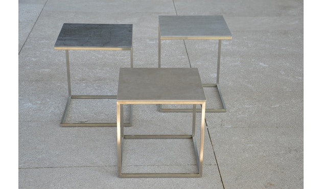 Jan Kurtz - Pizzo Outdoor Keramik - Gestell offen - grau - 2