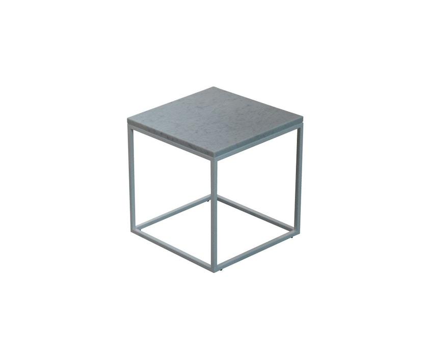 Jan Kurtz - Pizzo Marmor Beistelltisch - Guatemala/schwarz - hoch - 1