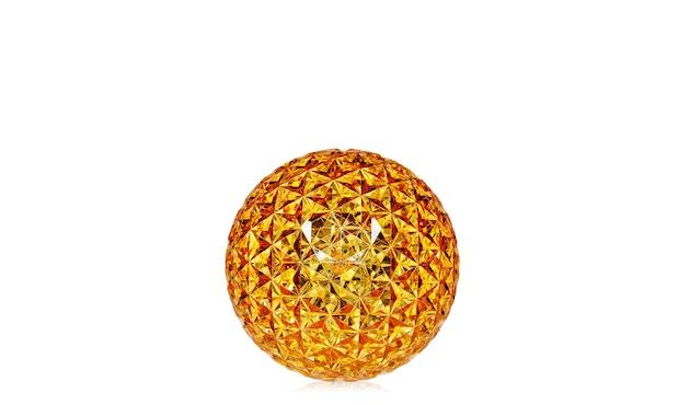 Kartell - Planet Tischleuchte - gelb - 2