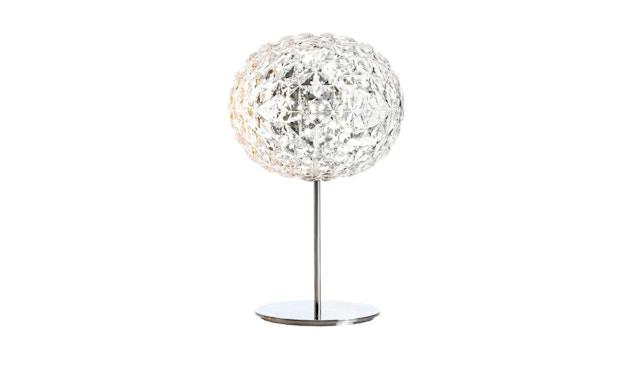 Kartell - Planet Tischleuchte mit Fuß - glasklar - 1