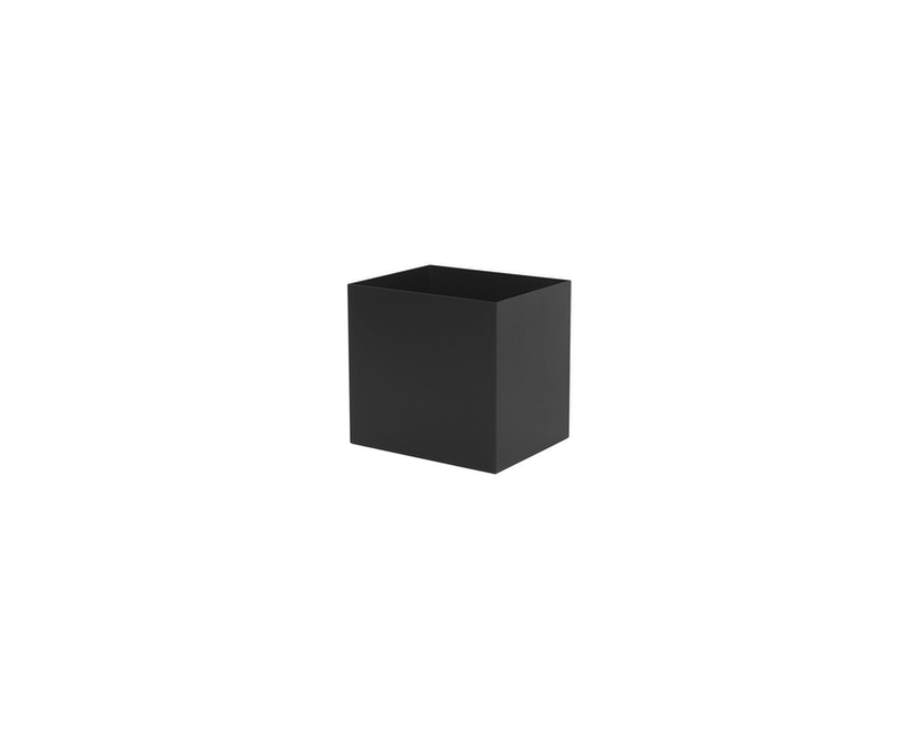 ferm LIVING - Plant Box Pot - schwarz - 1