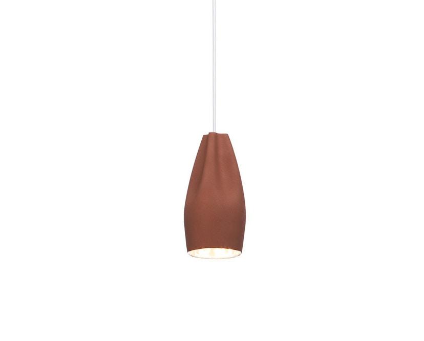 Marset - Pleat Box 13 hanglamp - terracotta, wit - 2