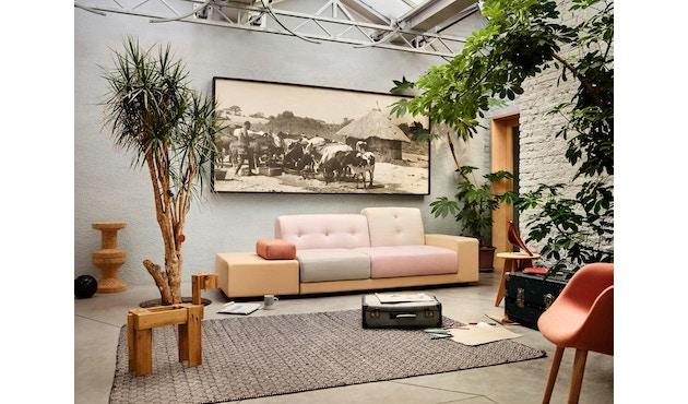Vitra - Polder Compact Sofa - niedrige Armlehne sitzend rechts - Stoffmix pastel - 4